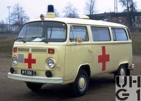 VW Transporter T2b, Ambw 2 Liegepl L 4x2, Bild Armasuisse
