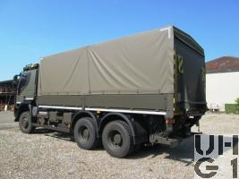 IVECO Trakker AT-N 380 T 45 W/P, Lastwagen Verdeck 12 t 6x6