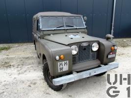 Land-Rover 88 Serie IIa, Gelpw 0,7 t 4x4 gl