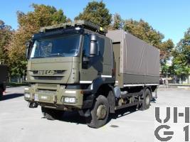 IVECO Trakker AT-N 190 T 41 W/P Lastwagen Verdeck 6,9 t 4x4