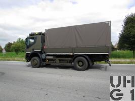 IVECO Trakker AT-N190T41W/P, Lastwagen Verdeck 6,9 t 4x4