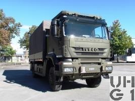 IVECO Trakker AT-N190T41W/P Lastwagen Verdeck 6,9 t 4x4