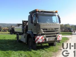 IVECO Trakker AT-N 190 T 45 W Lastwagen Kipper/Ladekran 4t 4x4
