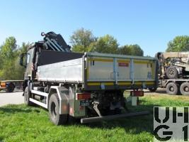IVECO Trakker AT-N 190 T 45 W, Lastwagen Kipper/Ladekran 4t 4x4