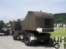 Michigan Series 8 T 4, Kranwagen 50, 7 t 4x4