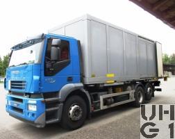 IVECO Stralis AD 260 S 45 Y/FS-CM, Lastw für WA Hebu 16 t 6x2