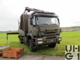 IVECO Trakker AT-N 190 T 36 W, Lastwagen Verdeck/Ladekran 3,4 t 4x4