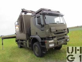 IVECO Trakker AT-N 190 T 36 W Lastwagen Verdeck/Ladekran 3,4 t 4x4