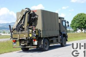 IVECO Trakker AT-N 190 T 36 W Lastwagen Verdeck/Ladekran 3,4 t 4x4 Bild VBS
