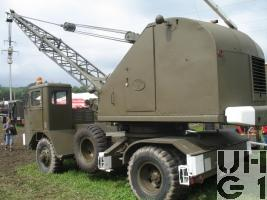 Michigan Series 8 T 4, Kranwagen 50, 7 t 4x4