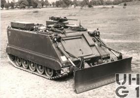 G Pz 63 M-113 A1, Bild K+W Thun