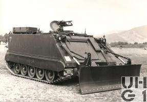 G Pz 63 M-113 A1 mit SE-412, Bild K+W Thun