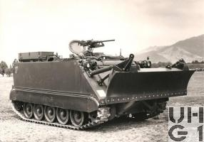 Spz 63 M-113 A1 Geniepanzer 63, Bild K+W Thun