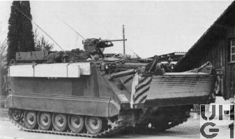 Spz 63 M-113 A1 Geniepanzer 63, Bild unbekannt