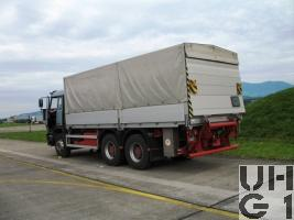 Steyr 26S32 P38, Lastw 14,9 t bgl 6x4 Verdeck