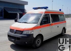 VW Transporter T5 syncro, Ambw 1 Liegepl/1Sitzpl 4x4