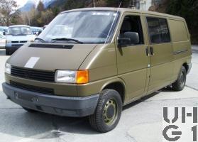 VW Typ 2 T4 Synchro Funkwagen, Bild VBS