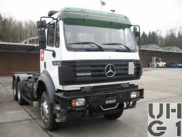 Mercedes Benz 2638 A, Containerwagen sch WA 13,2 t 6x6 gl