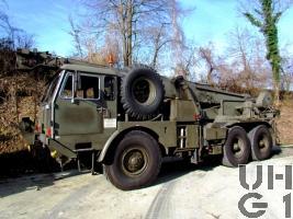 Faun LK 1212/485, Kranw 15 t sch gl 6x6