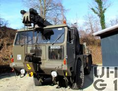 Faun LK 1212/485 II, Kranw 15 t sch gl 6x6