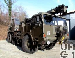 Faun LK 1212/485 Kranw 15 t sch gl 6x6