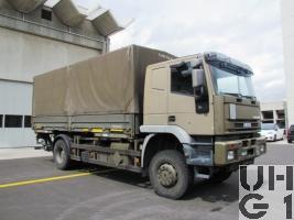 IVECO EuroTrakker MP 190E 35W/P, Lastw für WA Truppe 9,1 t 4x4 gl für Hebebühne