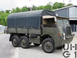 Saurer M6 M. Gelastw. 2,5 t 6x6