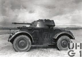 Staghound T17E1 Mk I 4x4, Bild K+W Thun