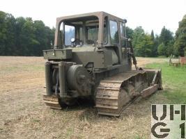 Komatsu D 65 E, Bulldozer 78 mit Seilwinde