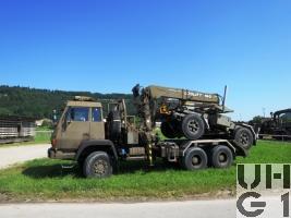 Steyr 1491.310/S37 Langmatw 10,3 t sch gl 6x6 / Langmatanh 11,5 t 2-Achsig