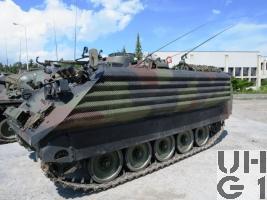 Spz 63/89 M-113 A1 mit SE-412 / SE-235/m1