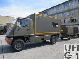 Bucher Duro I, Werkstattwagen L WA DIFAMO KA 4x4 gl