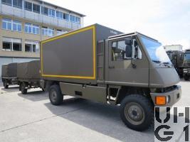 Bucher Duro Werkstattwagen L WA DIFAMO KA 4x4 gl