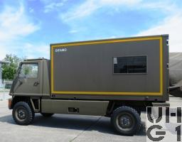 Bucher Duro 1, Werkstattwagen L WA DIFAMO KA 4x4 gl