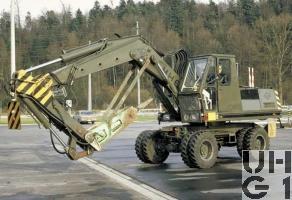 O&K MH6 Bagger Knickarm 0,6m3 4x4, Bild VBS