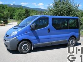 Opel Vivaro 2,5 CDTI, Pw Kombi 0,8t/9Pl 4x2