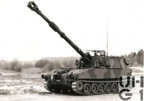 Panzerhaubitze 79 M-109 / L-39, Bild K+W Thun