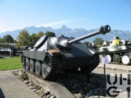 Panzerjäger G 13 mit Benzinmotor