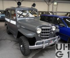 Willys Overland Station Wagon 4x4-73 Stationsw MP 5 Pl 4x4