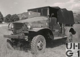 Dodge WC 22, L Gelastw 0,6 t 4x4 (G505) Bild K+W Thun