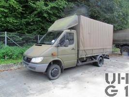 Mercedes Benz 413 CDI 4x4 Lastw L für WA 2,3 t
