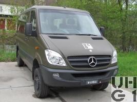 Mercedes Benz 316 CDI, Kleinbus 10 Pl 4x4