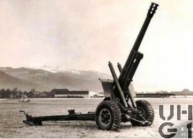 15 cm Haubitze 1942 L 28 Foto K+W Thun