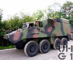 Mowag PIRANHA IIIC 8x8 FHR Pz FIS/HE INTAFF 18,5t