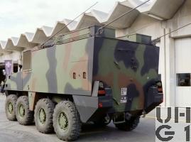 Mowag PIRANHA IIIC 8x8 FHR Pz