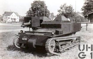 Carden-Loyd Mk VI, Bild K+W Thun