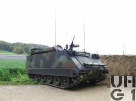 Spz 63/07 Rpe M-113 A1 mit SE-235/m2+/m1