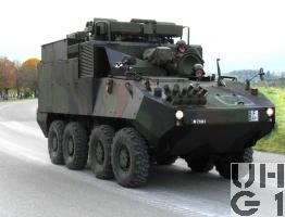 Mowag PIRANHA IIIC 8x8 RAP Pz