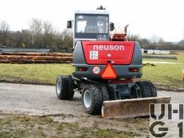 Neuson 6502 WD, Bagger GG 6,4 t gl 4x4