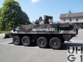 Mowag Piranha Spz Pz 93 8x8 Militärpolizei